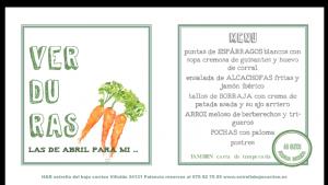 verduras 2014